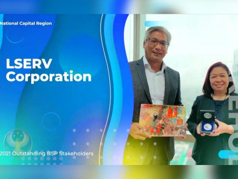 Steadfast Support: BSP Awards Token of Appreciation to LSERV Corporation